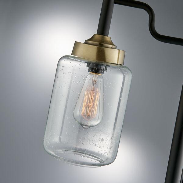 Luken Black One-Light Floor Lamp, image 2