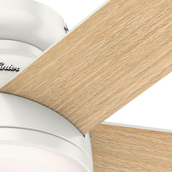 Romulus Low Profile Fresh White 54-Inch Smart LED Ceiling Fan, image 6