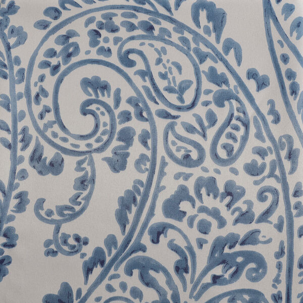 Tea Time China Blue 120 x 50-Inch Blackout Curtain, image 5