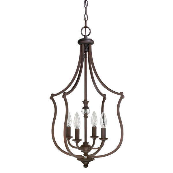 Leigh Burnished Bronze Four-Light Sixteen-Inch Pendant, image 1