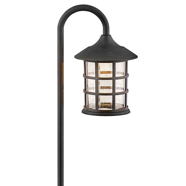 Freeport Textured Black LED Path Light, image 1