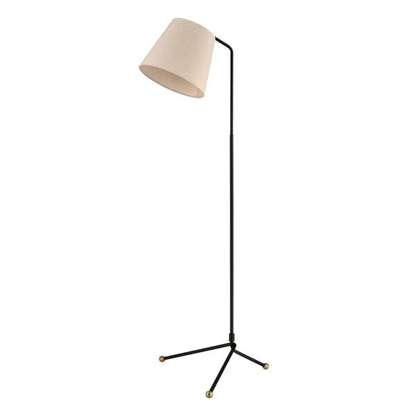 Pine Plains Black One-Light Floor Lamp, image 2