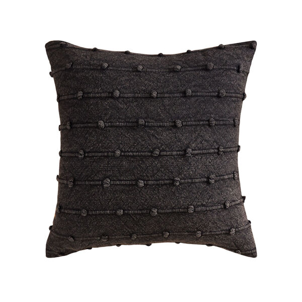 Charcoal Knots Charcoal 20-Inch 20 x 20 In. Pillow, image 1