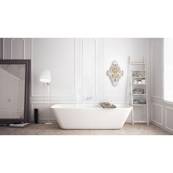 London Chrome Seven-Inch One-Light Bath Vanity, image 2