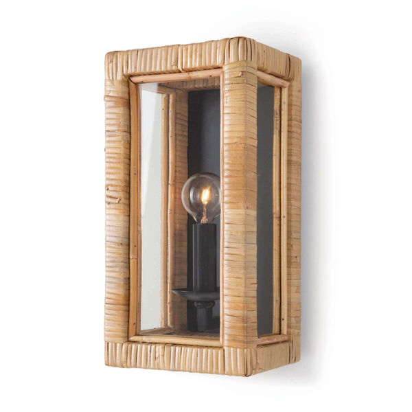Newport Natural One-Light Wall Sconce, image 1