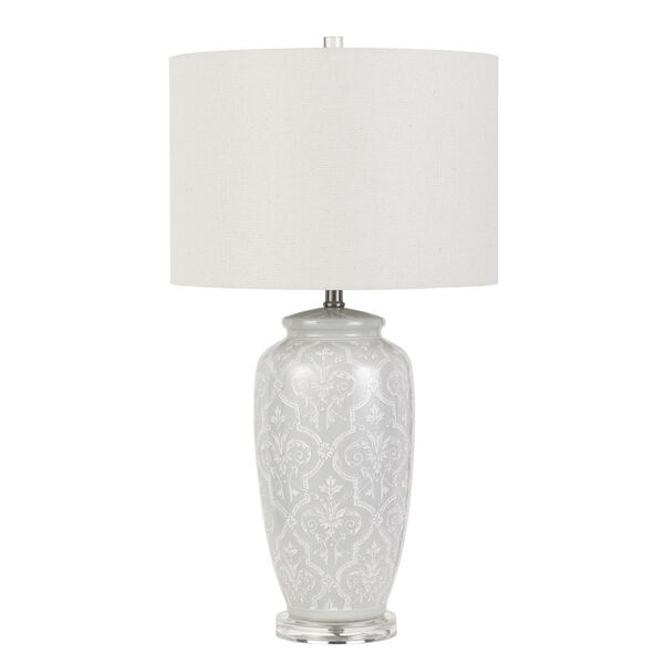 Corato Pearl White One-Light Table Lamp, image 1
