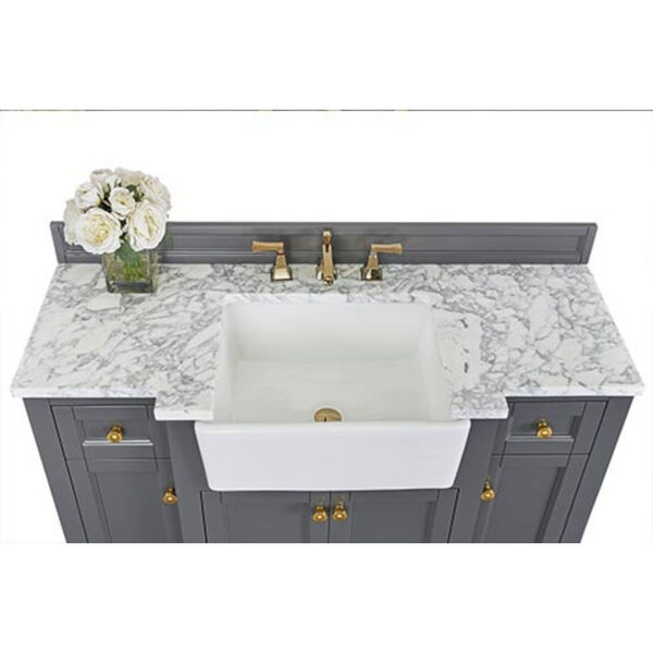 Adeline Sapphire 48-Inch Vanity Console with Farmhouse Sink, image 6