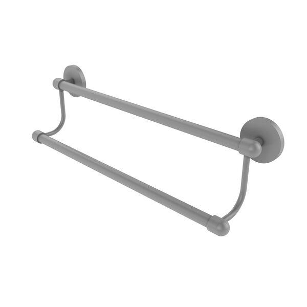 Tango Matte Gray 18-Inch Double Towel Bar, image 1