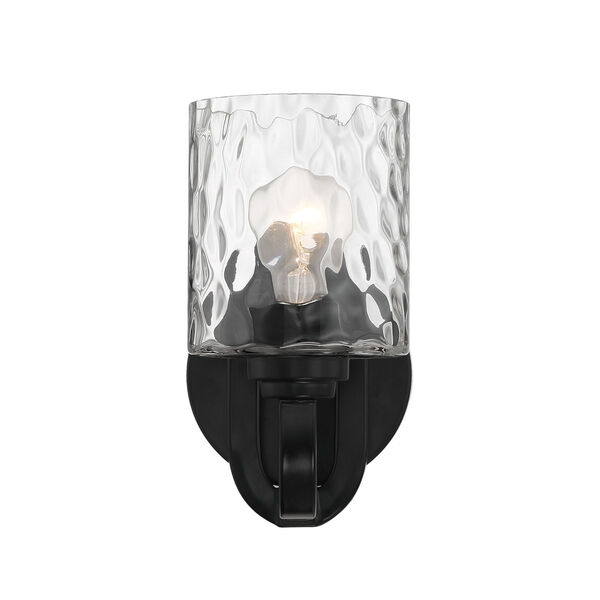 Collins Flat Black One-Light Wall Sconce, image 4