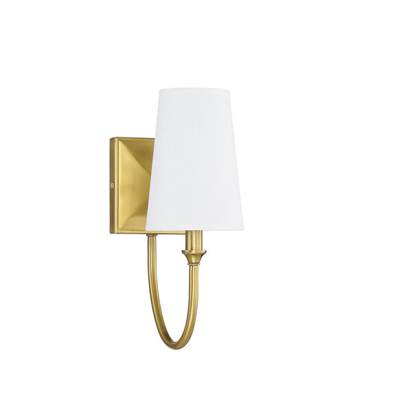 Cameron Warm Brass One-Light Wall Sconce, image 2