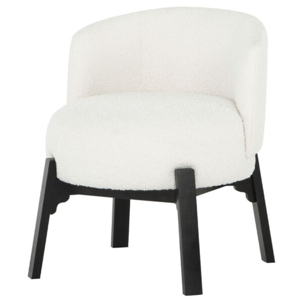 Adelaide Buttermilk and Black Dining Chair, image 1