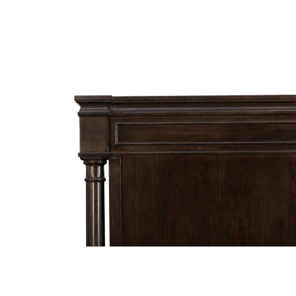 Lawrence Anabel Wood Dark Cherry Queen Bed, image 4