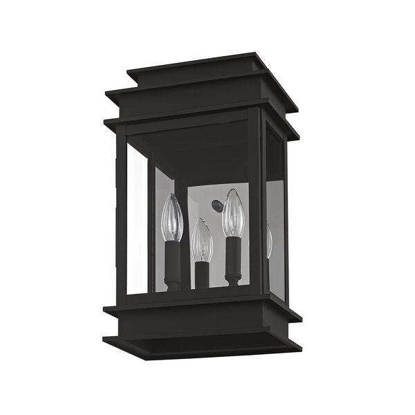 Princeton Black Two-Light 15-Inch Wall Lantern, image 4