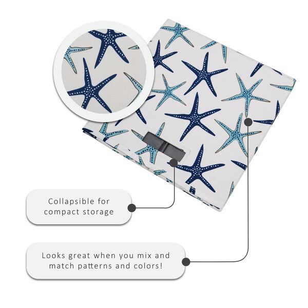 Liam Multicolor Starfish Storage Bin, Pack of 2, image 3