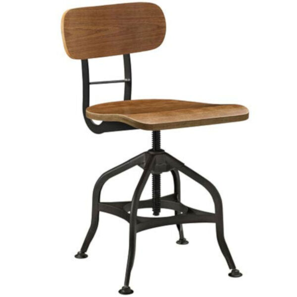 River Station Brown Laminated Bentwood Seat and Back Bar Stool, image 2