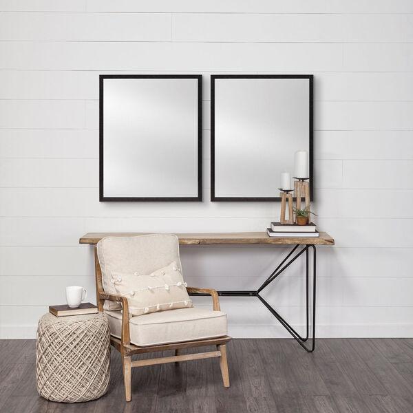 Black 32-Inch Wall Mirror, image 4