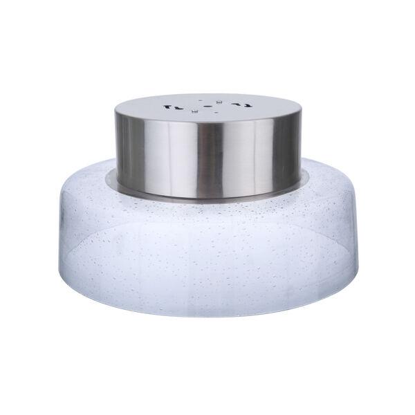 Centric Brushed Polished Nickel 11-Inch LED Flushmount, image 3