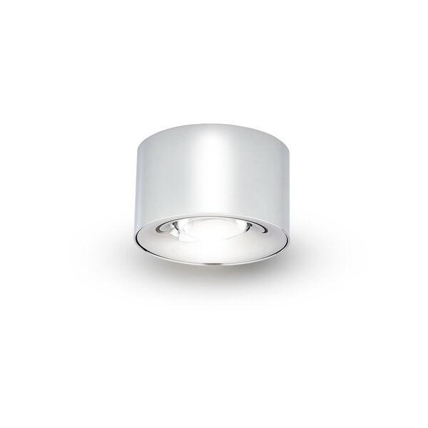 Node Polished Chrome 8W Round LED Flush Mounted Downlight, image 2