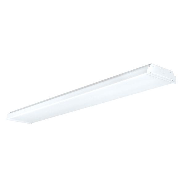 LED Wrap White Two-Light Flush Mount, image 1