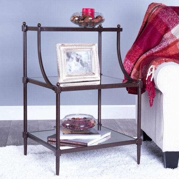 Metalworks Tiered Side Table, image 11