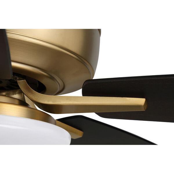 Pro Plus Satin Brass 52-Inch LED Ceiling Fan, image 6