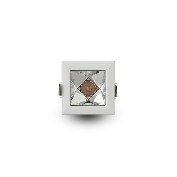 Rubik White LED Recessed Downlight, image 3