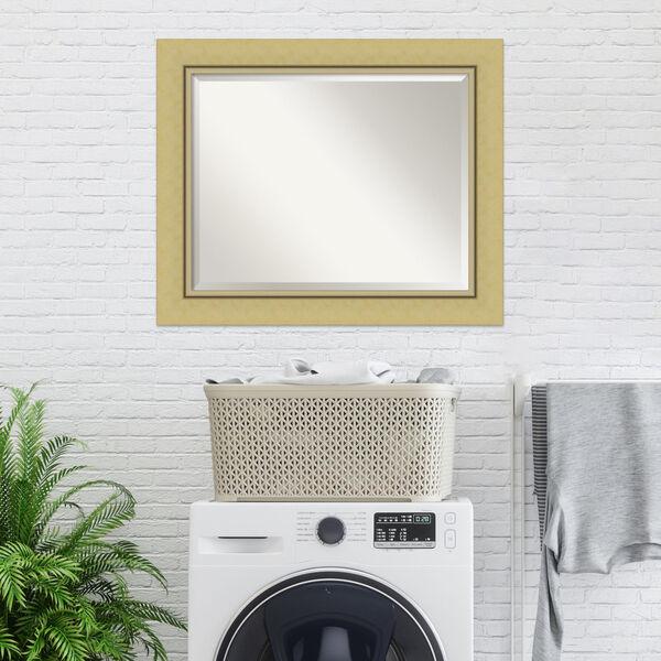 Landon Gold 34W X 28H-Inch Bathroom Vanity Wall Mirror, image 6