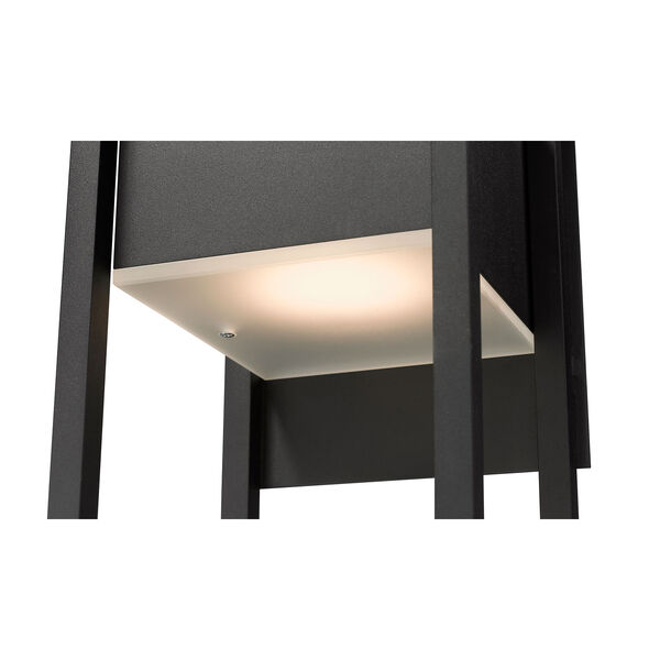 Barwick Black 8-Inch One-Light LED Outdoor Wall Sconce, image 6