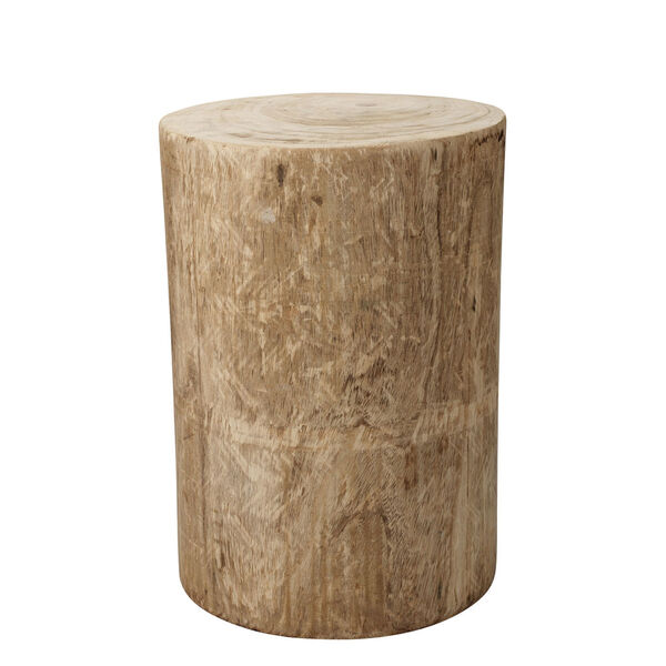Agave Natural Wood Side Table, image 1