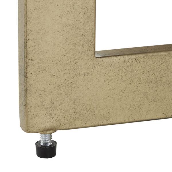 Helena Black and Gold Sofa Table, image 4