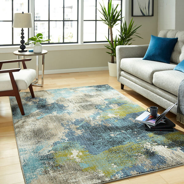 Elements Multicolor Oyster Rectangular: 5 Ft. 3 In. x 7 Ft. 10 In. Rug, image 5
