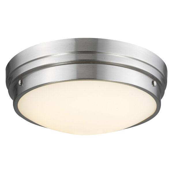 Cermack St. Brushed Nickel 17-Inch LED Flush Mount, image 1