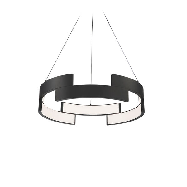 Trap Black 20-Inch LED Pendant, image 1