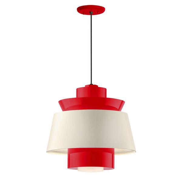 Aero Red LED 14-Inch Pendant, image 1