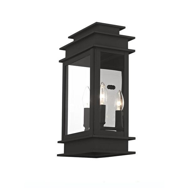 Princeton Black Two-Light 15-Inch Wall Lantern, image 5
