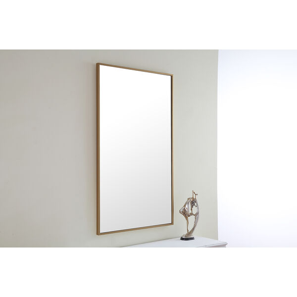 Eternity Brass 24-Inch Mirror, image 6