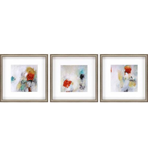 Beyond I White Framed Art, Set of Three, image 2