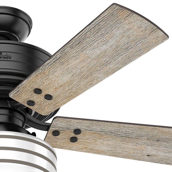 Cedar Key Matte Black 44-Inch One-Light LED Adjustable Ceiling Fan, image 4