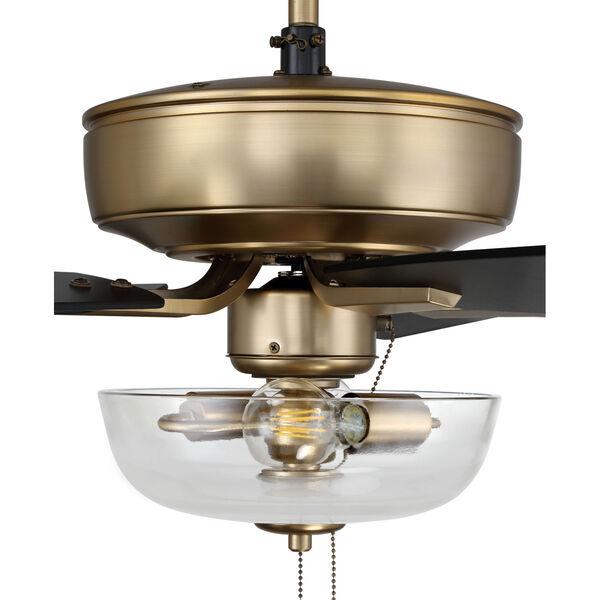Pro Plus Satin Brass 52-Inch Two-Light Ceiling Fan, image 6