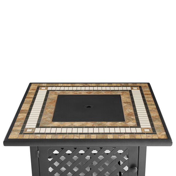 Tucson Brown 40-Inch Fire Table, image 4