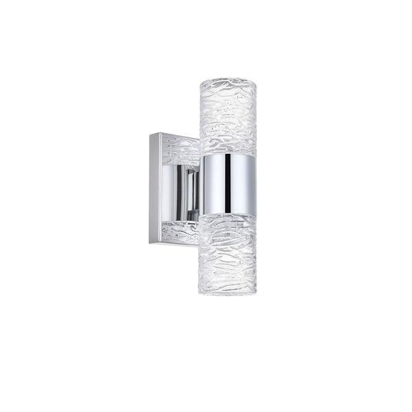 Vega Chrome Five-Inch Two-Light LED Wall Sconce, image 5