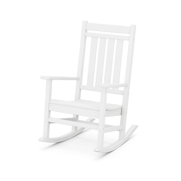 Estate White Rocking Chair, image 2