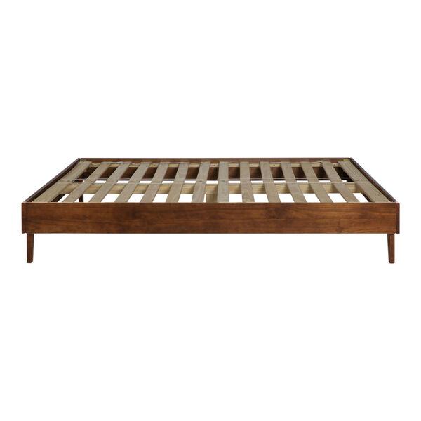 Walnut King Platform Bed, image 4