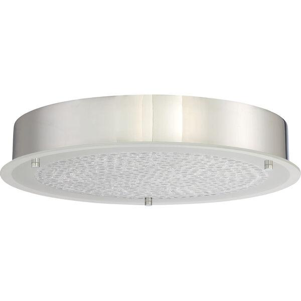 Platinum Collection Blaze 16-Inch Polished Chrome LED Flush Mount, image 2