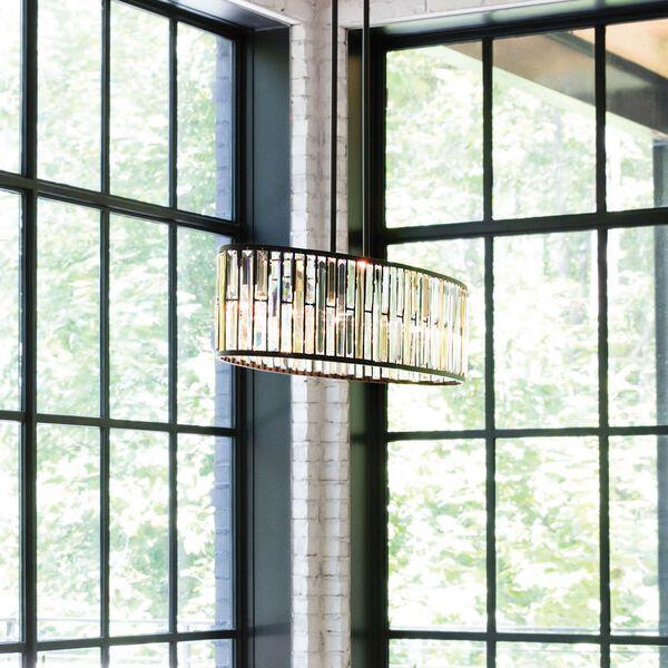 Gemma Vintage Bronze Six-Light Pendant, image 3