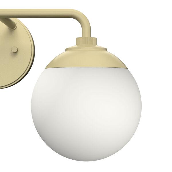Hepburn Painted Modern Brass Two-Light Bath Vanity, image 4