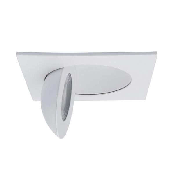 Lotos White LED Square Recessed Light Kit, image 4
