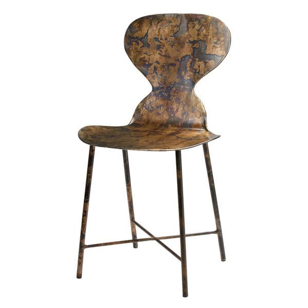 McCallan Acid Washed Metal Chair, image 4