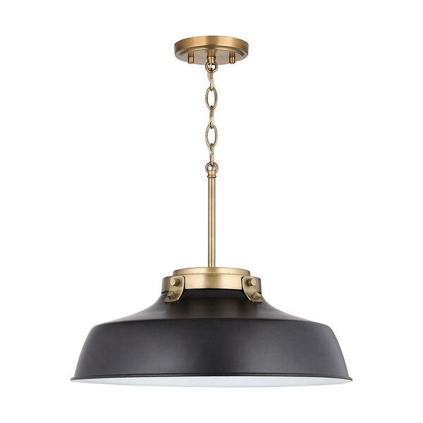 Oakwood Matte Black One-Light Pendant, image 5