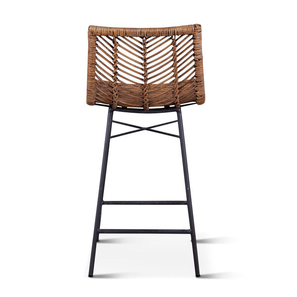 Bali Brown Honey Washed Counter Chair, Set of 2, image 5